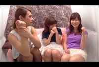 素人レズ?ナンパ♥南米系ニューハーフVS素人女子! Vol.04